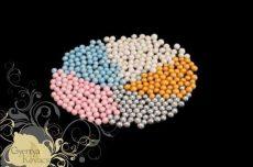 Cukorgyöngy - gyöngyházfehér 20 dkg
