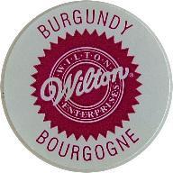 Wilton gél ételfesték - Burgundi