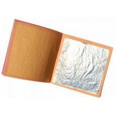 Ezüst fólia 25 levél/cs 95*95 mm