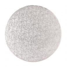 Tortadob ezüst 30.5 cm