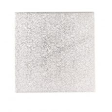 Tortadob ezüst 40,6*40,6cm