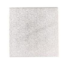 Tortadob ezüst 43,2 * 43,2 cm