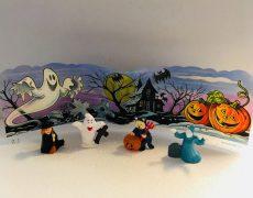 Micimackós halloween szett - műanyag