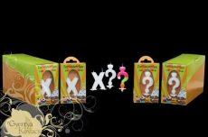 Számgyertya csomagolt X