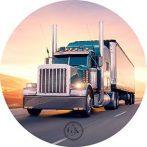 Dekorációs ostya - Kamion