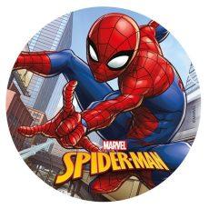 Dekorációs ostya - Pókember (Spiderman)