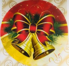Dekorációs ostya - Karácsonyi