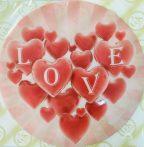 Dekorációs ostya - Love