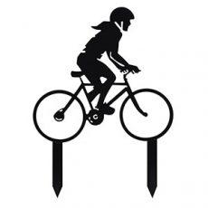 Biciklis sziluett