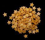 Karácsonyi cukor csillag, arany 10 dkg
