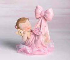 Keresztelői baba - Kislány kendőben