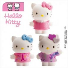 Műanyag figura - Hello Kitty