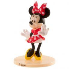 Műanyag figura - Minnie (piros ruhás)