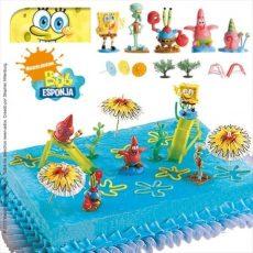Műanyag figura - Spongyabob szett