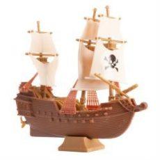 Műanyag kalóz hajó