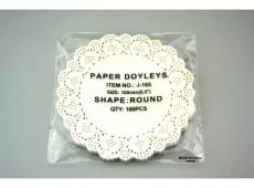 Tortapapír kerek 16,5 cm átmérőjű 100 db/cs