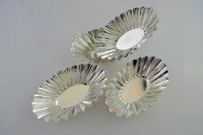 Sütőforma szett mini fém ovális 4 részes
