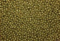Cukorgyöngy - arany 4mm 20 dkg fényes
