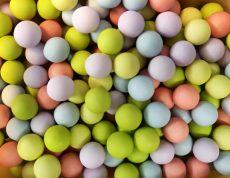 Dekor csokigolyó multicolor 20 dkg