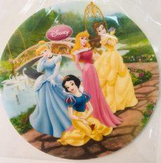 Dekorációs ostya - Hercegnők tortaostya