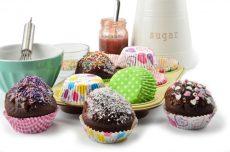 Muffin papír sütőforma 100 db-os