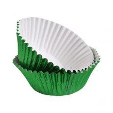 Muffin kapszli, 50 db-os Alu - zöld