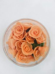 Mini rózsa barack