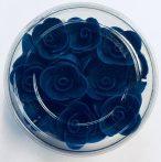 Mini rózsa sötétkék