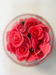 Mini rózsa sötét rózsaszín