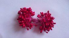 Virágbibe piros