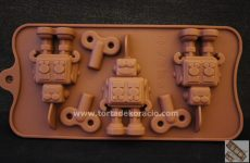 Bonbon forma szilikon - Robotos