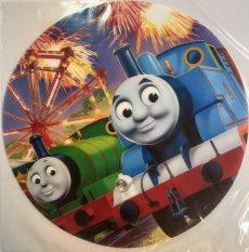 Dekorációs ostya - Thomas, a gőzmozdony tortaostya