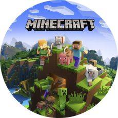 Dekorációs ostya - Minecraft 2