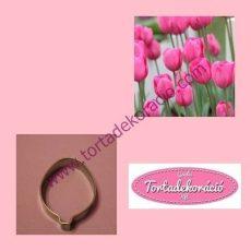 Tulipán szirom kiszúró 1 db