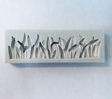 Szilikon fű mintázó