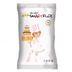 Smartflex Velvet 1  kg vanília íz - fehér