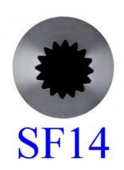 Díszítőcső - SF14 csillag