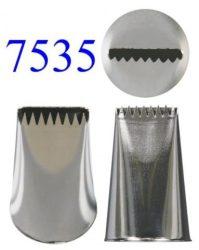 Díszítőcső - 7535, kosárfonó