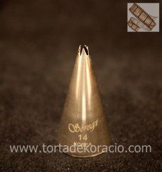 Díszítőcső - 14 csillag 2.1mm