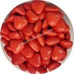 Színes szívecskék - Korallpiros 200 g