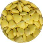 Színes szívecskék - sárga 200 g
