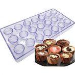 Polikarbonát bonbon forma - mini muffin