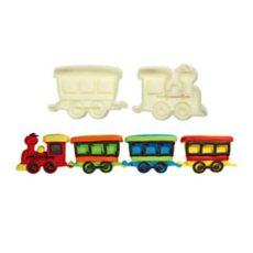 Vonat kiszúró szett 2 darabos