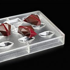 Polikarbonát bonbon forma - drágakő