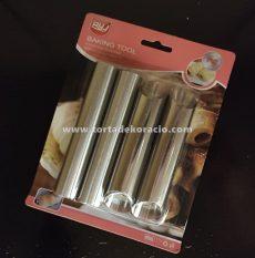 Hab- és sajtroló cső/ Cannoli 4 db-os
