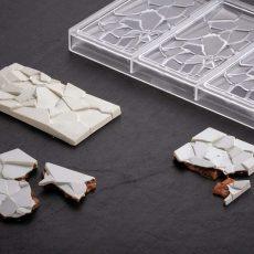 Polikarbonát bonbon forma - Összetört táblás csokoládé